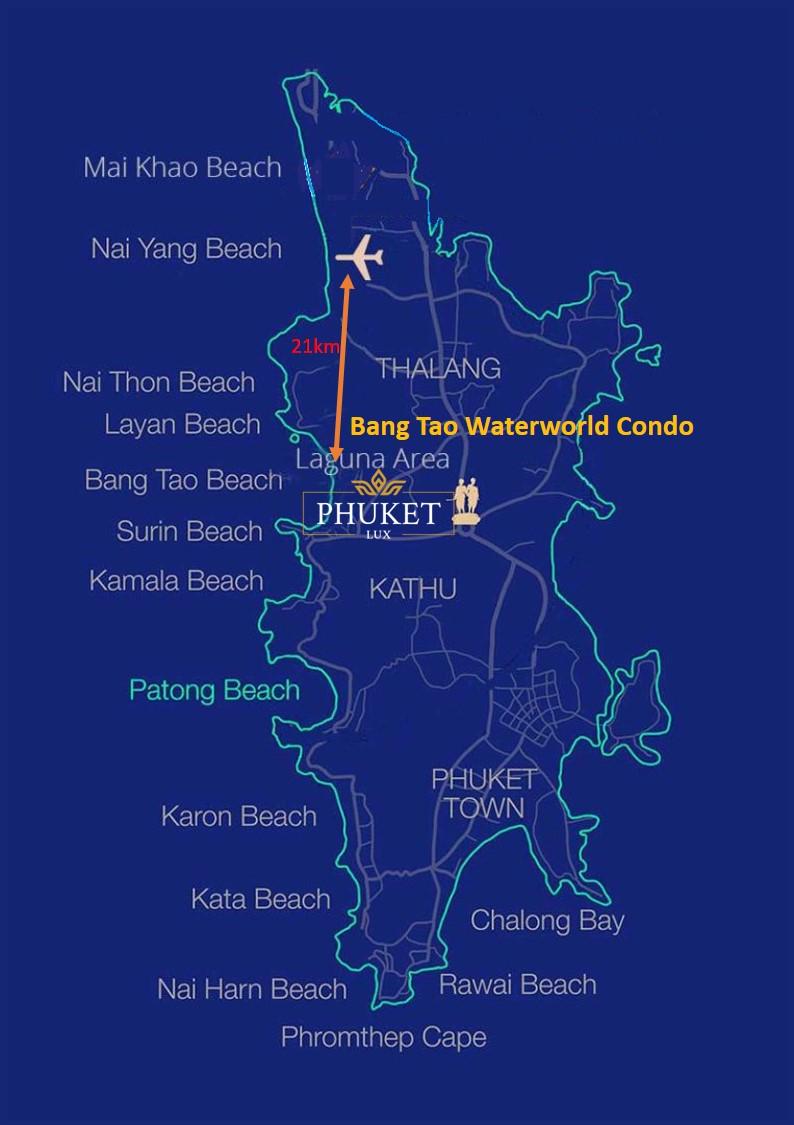 Bang Tao Map